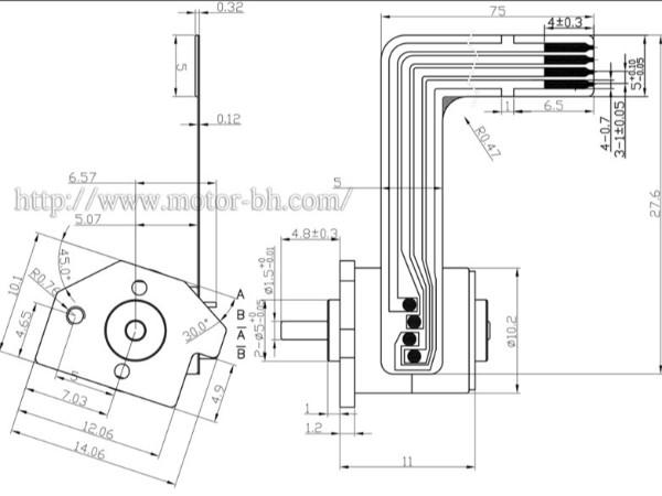 用ULN2003驱动24BYJ48步进电机时,怎么接stm32单片机比较好?
