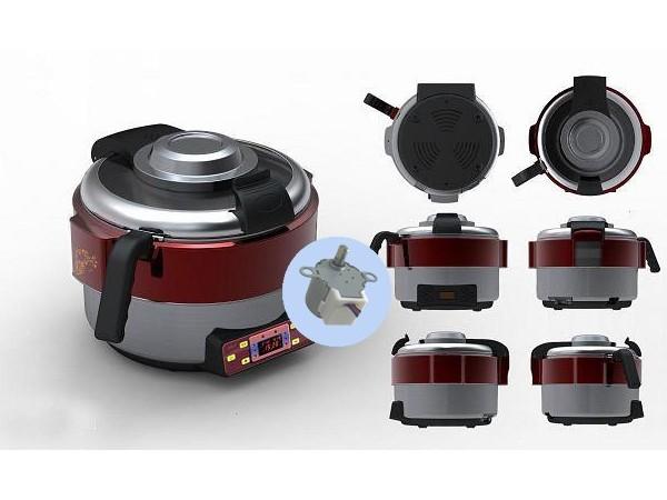 自动炒菜机步进电机的整体的制作方法