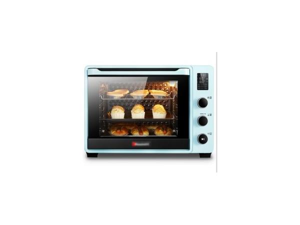 一种运用烤箱转叉步进电机新型烤箱的制作方法