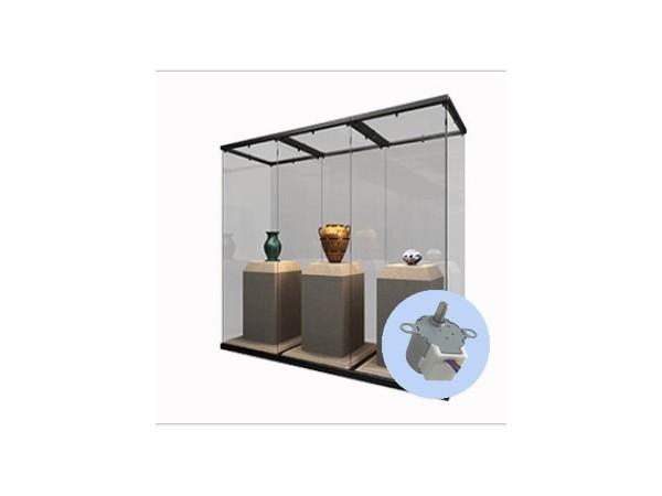展示柜台步进电机的工作原理与结构