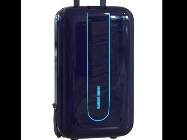 机器人式跟随行李箱里边的步进电机起到什么作用?