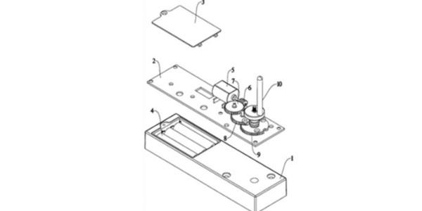 电机驱动直接开锁电子锁的制作方法