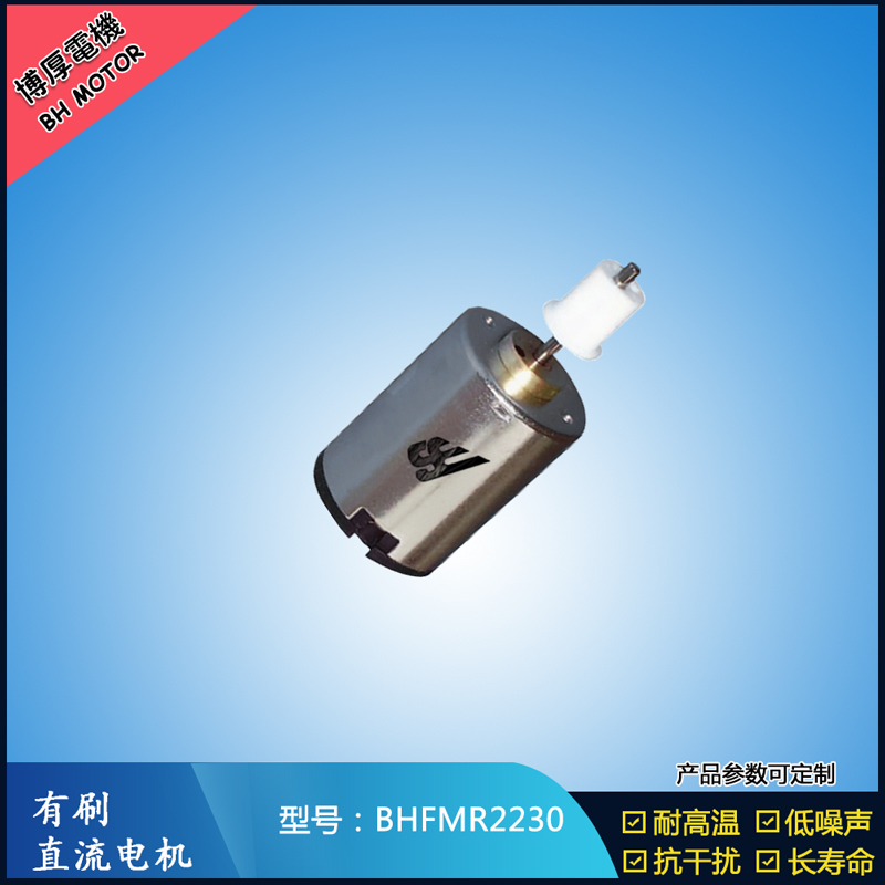 BHFMR2230直流有刷电机 6V 12V 24V微型直流伺服电机 卫生洁具马达