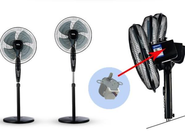 电风扇摇头会转风扇电机不转是什么原因