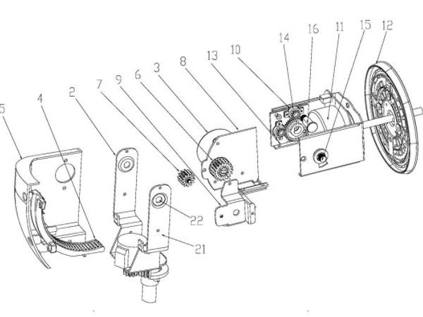 一种车载无线充电手机夹持支架的制作方法